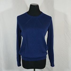Banana Republic Blue Pullover Knit Sweater